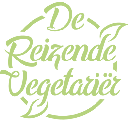 De Reizende Vegetariër logo