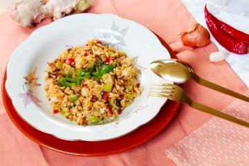 nasi goreng vegetarisch