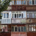 Shymkent- huizen