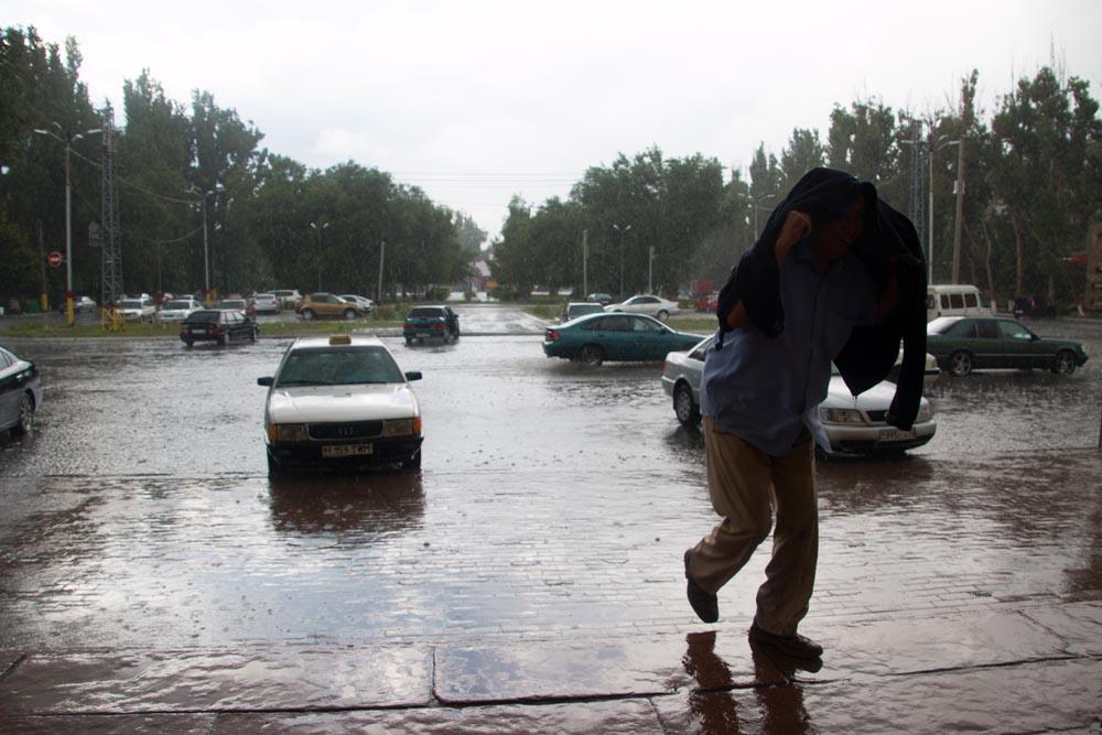 Taraz regen