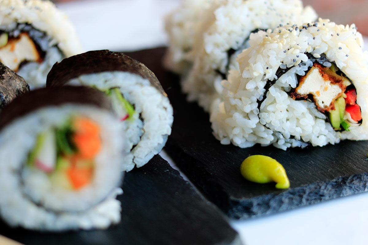 vegan sushi maken