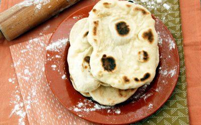 indiaas naanbrood