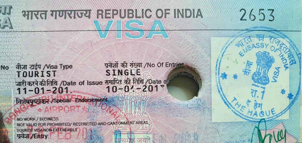 visum aanvragen voor India