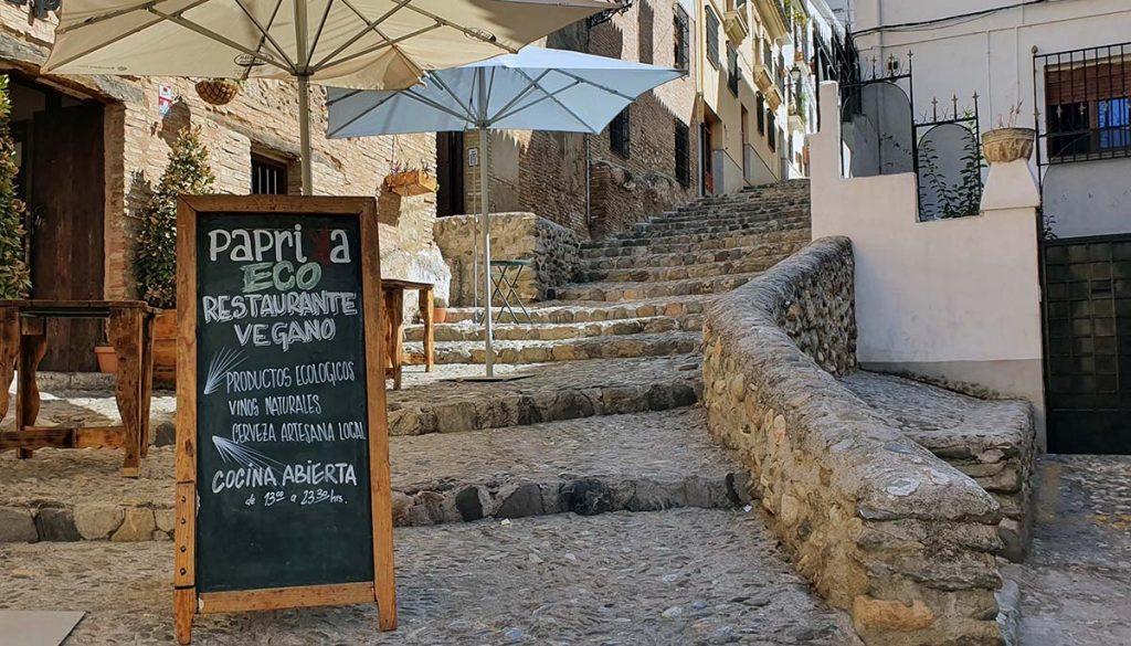 Vegan Restaurants Granada