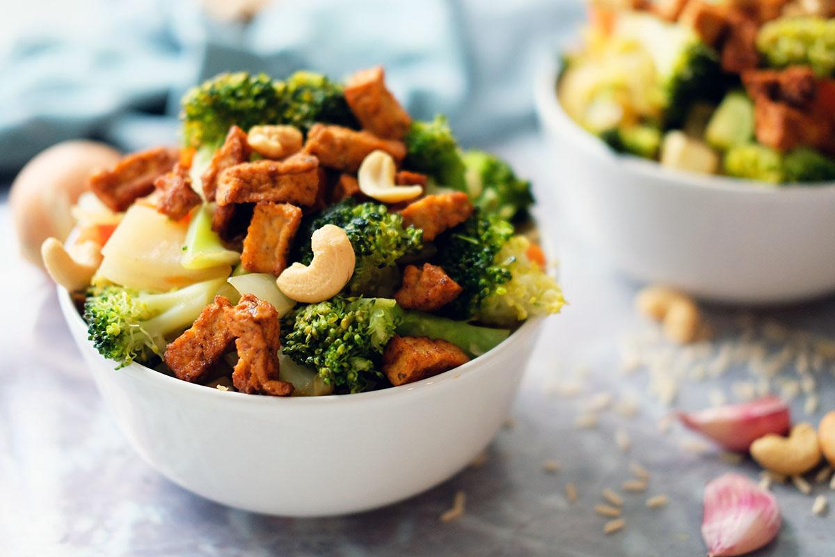 broccoli wokken vegan